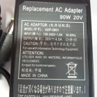 Notebook adapter - Lenovo ugy. adapter AKYGA 20V 4.5 90W (AK-ND-18)
