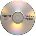 Irható CD - ÍRHATÓ CD MAXELL CD-R80 (52X) PAPÍRTOKBAN (HOL)