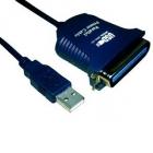Kábel átalakító - VCOM KÁBEL ÁTALAKÍTÓ USB - PRINTER (PÁRHUZAMOS) 1,2M