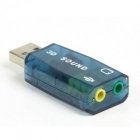 Hangkártya - Mikrofon - Cmedia Sound 5.1 USB