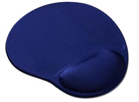 Egérpad - Csuklótámaszos egérpad kék színű (MP-GEL/40)
