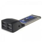 USB eszközök - 4 portos USB2.0 Express kártya csatoló MP850CB