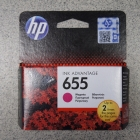 Eredeti HP patron - HP 655 piros (magenta) CZ111AE
