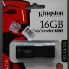 Pendrive - 16GB Kingston DT100G3 USB 3.0 pendrive