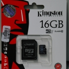 MicroSD - Kingston 16GB MicroSD CLASS 10