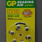 Akku, elem - Hallókészülék elem Geers ZA10 6db/csomag