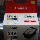 Eredeti Canon patron - Canon CL-546XL színes