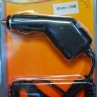 Szivargyújtó töltő,micro usb,1A