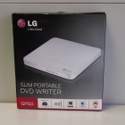 Optikai meghajtó - LG GP50 Slim külső DVD író fehér
