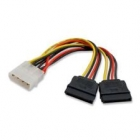 Sata to 2 molex PW-59