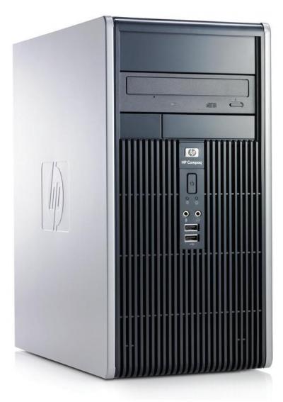 Használt számítógép - HP Compaq DC5700 Fekvő ház