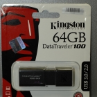 Pendrive - Kingston 64GB DT100G100 G3 pendrive