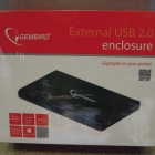 USB külső ház - Gembird külső 2.5