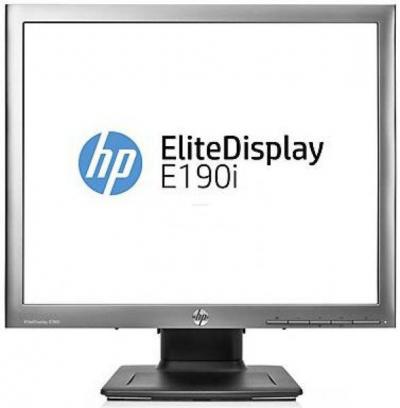 Monitor - HP EliteDisplay E190i (E4U30AA) LED monitor B kategória NINCS TALP
