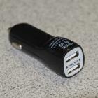 Mobiltelefon tartozékok-kellékek - Cellect szivargyújtó autós töltő 2db USB 1A/db