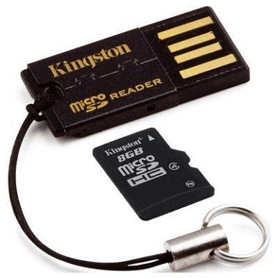 USB eszközök - Kingston USB microSD kártyaolvasó