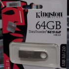 Pendrive - Kingston 64GB DTSE9G2 ezüst USB3.0 pnedrive