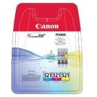 Eredeti Canon patron - Canon CLI521 multipack AKCIÓS