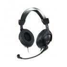 Hangszóró - Fejhallgató - Genius HS-M505X single jack fekete headset