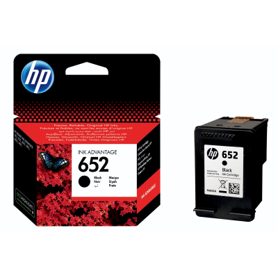 Eredeti HP patron - HP 652 fekete (F6V25AE)
