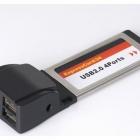 USB eszközök - GEMBIRD ExpressCard 34 4 PORT USB 2.0 BŐVÍTŐKÁRTYA (PCMCIAx-USB24)