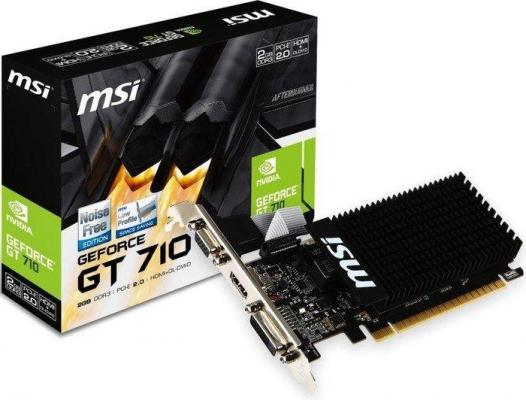 Videókártya - MSI GT710 2GB DDR3 LP PCI-E VGA
