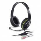 Hangszóró - Fejhallgató - Genius HS-400A mikrofonos fejhallgató