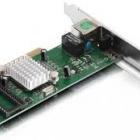 Vezetékes hálózat - Netis AD1102 Gigabit PCI hálózati kártya LP