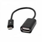 USB kábel - micro USB OTG kábel 30cm