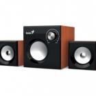 Hangszóró - Fejhallgató - Genius SW-2.1 370 Hangszóró cseresznyefa
