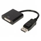Monitor kábel - Displayport DVI Kábel 0.2m