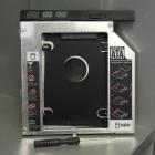 Hdd beépítő keret, optikai meghajtó helyére - Notebook multibay HDD keret 9.5mm