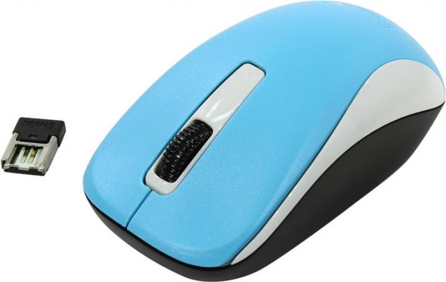 Vezeték nélküli egér - Genius NX-7005 BlueEye wireless kék egér