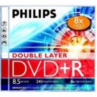 Irható DVD - Philips 8,5GB DVD+R Double Layer