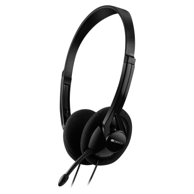 Hangszóró - Fejhallgató - CNE-CHS01B fekete headset