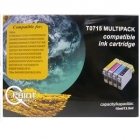 Q-PRINT TINTAPATRON T0715 MULTIPACK (CHIPES)
