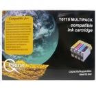 Utángyártott patron - Q-PRINT TINTAPATRON T0715 MULTIPACK (CHIPES)