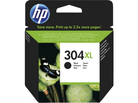 Eredeti HP patron - HP 304Xl fekete N9K08AE