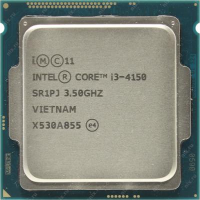 CPU - Processzor - Intel® Core™ i3-4150 Processor 3M Cache, 3.50 GHz