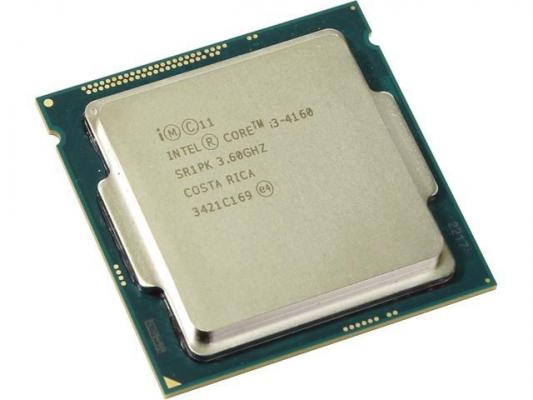 CPU - Processzor - Intel® Core™ i3-4160 Processor 3M Cache, 3.60 GHz
