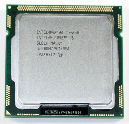 CPU - Processzor - Intel® Core™ i5-650 Processor 4M Cache, 3.20 GHz