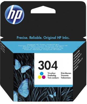 Eredeti HP patron - HP 304 színes N9K05AE