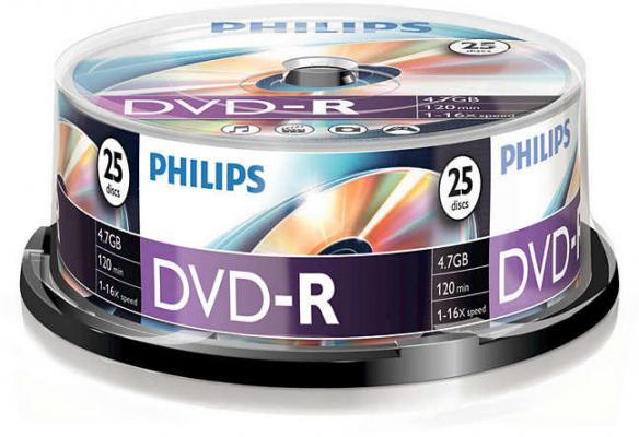 Irható CD - Philips DVD-R 25db/henger
