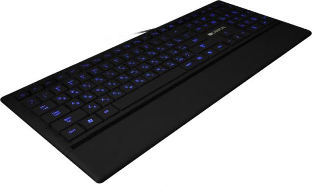 Canyon CNS-HKB6HU USB fekete billentyűzet
