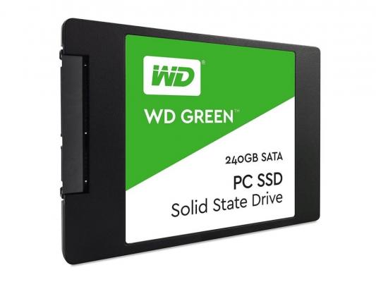 SSD meghajtók - WD 240GB Green 3D (WDS240G2G0A) SATA3