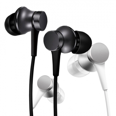 Hangszóró - Fejhallgató - Xiaomi Mi In-Ear Basic fülhallgató fekete ZBW4441GL
