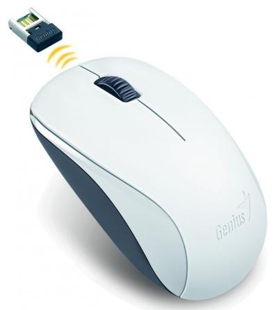Vezeték nélküli egér - Genius NX-7000 BlueEye fehér