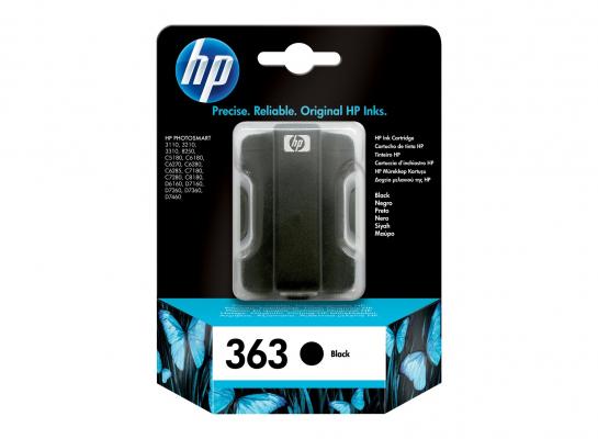 Lejárt szavatosságú eredeti patron - HP 363 fekete C8721EE