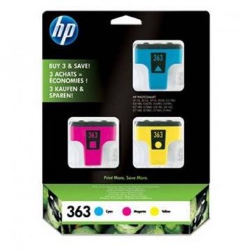 Lejárt szavatosságú eredeti patron - HP CB333EE /363/ color színes (3db szin)