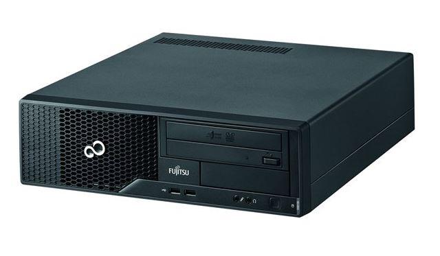 Használt számítógép - Fujitsu Esprimo E500 E85+ Fekvő ház